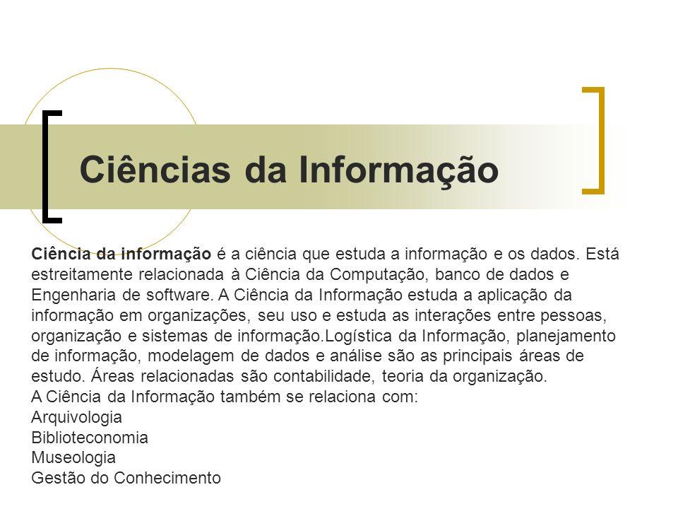 Ciências da Informação