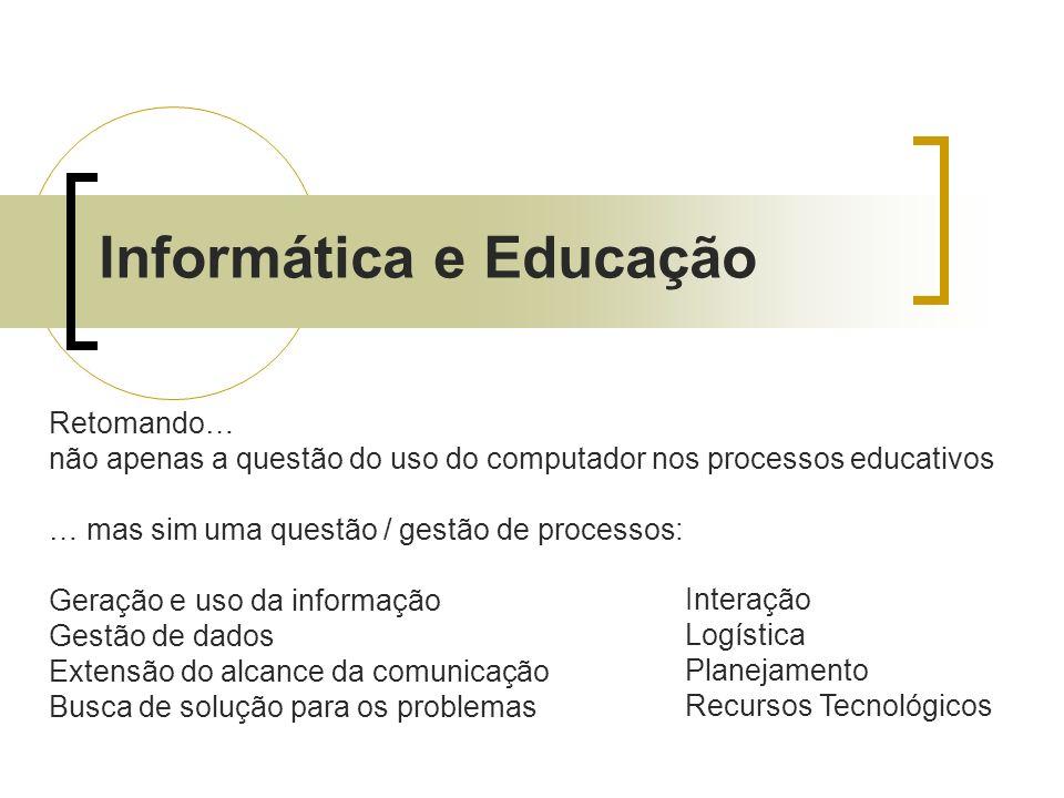 Informática e Educação