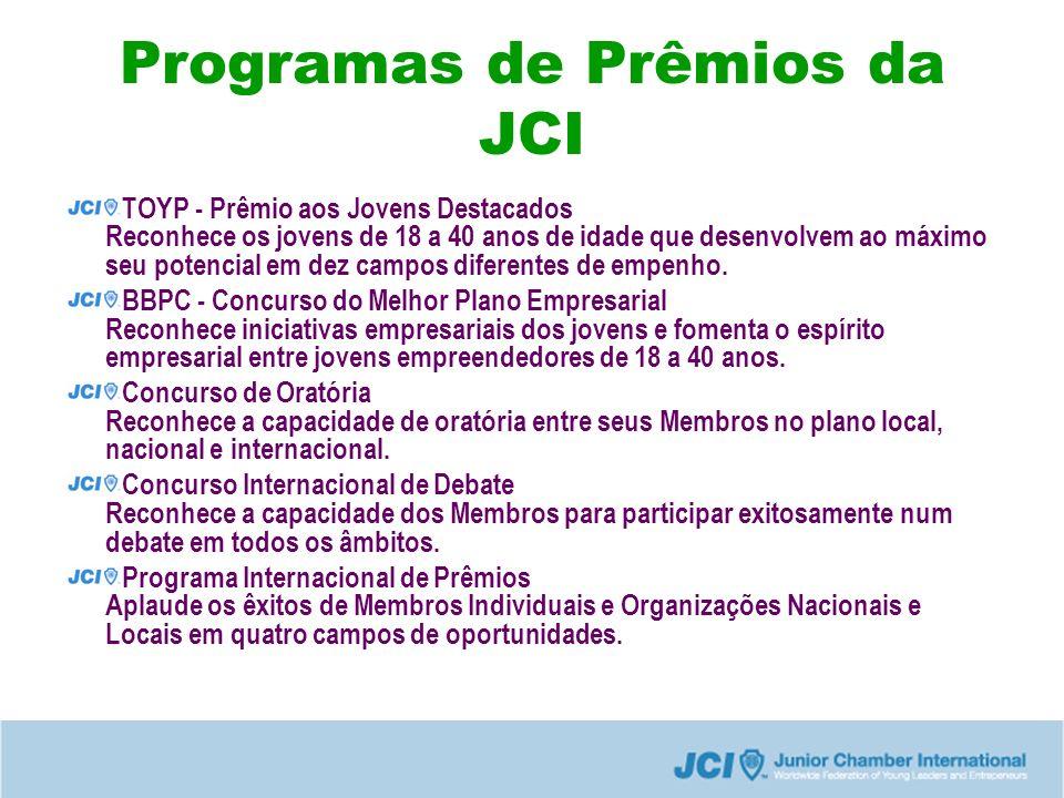 Programas de Prêmios da JCI