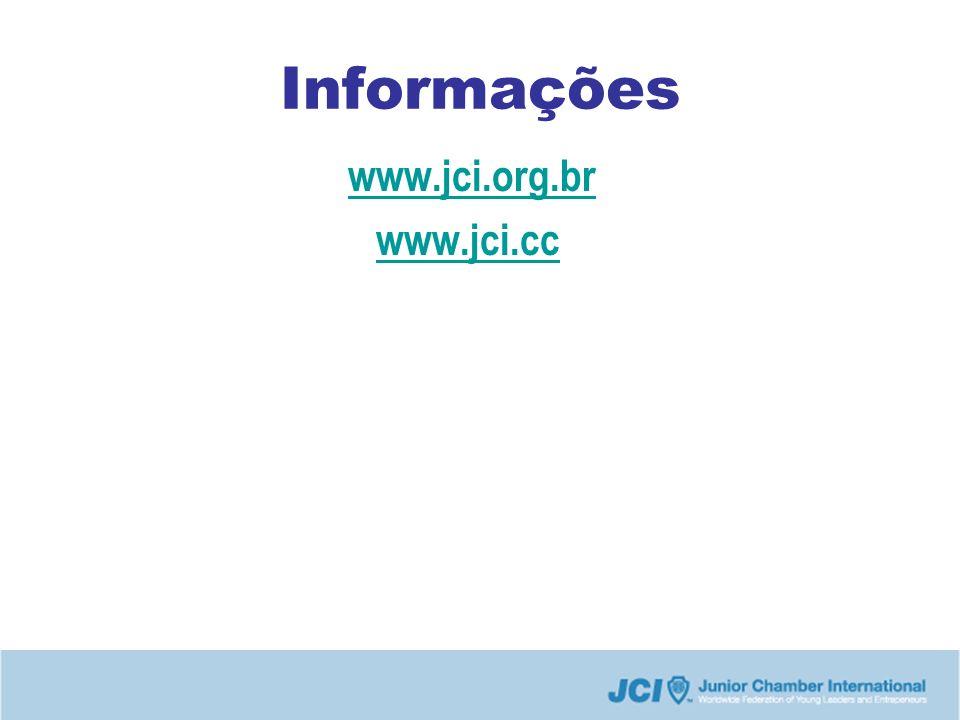 Informações www.jci.org.br www.jci.cc