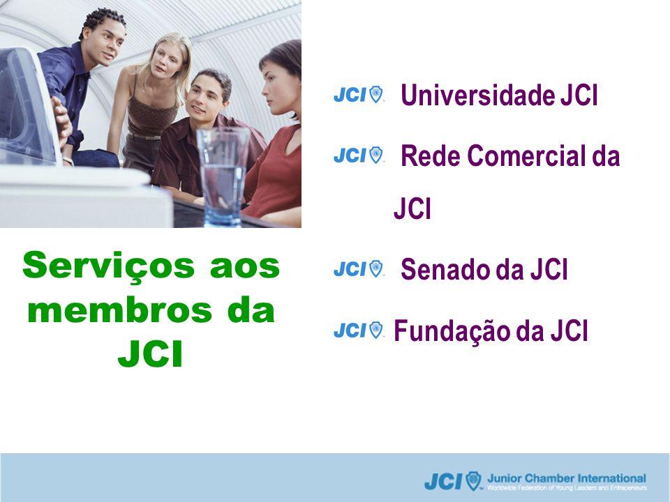 Serviços aos membros da JCI