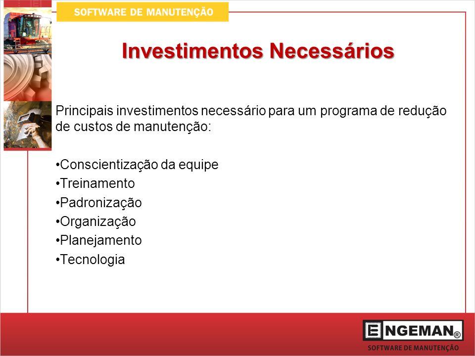 Investimentos Necessários