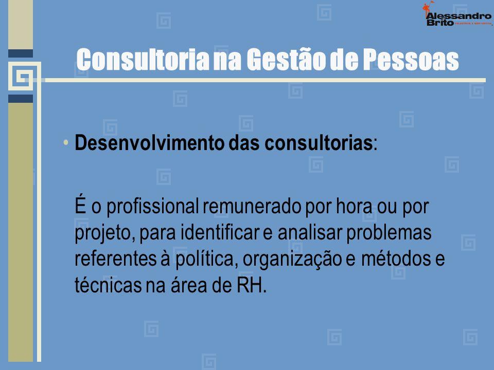 Consultoria na Gestão de Pessoas