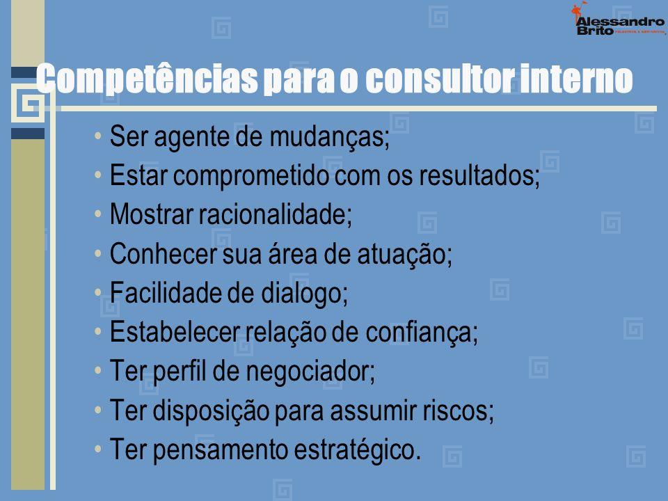 Competências para o consultor interno