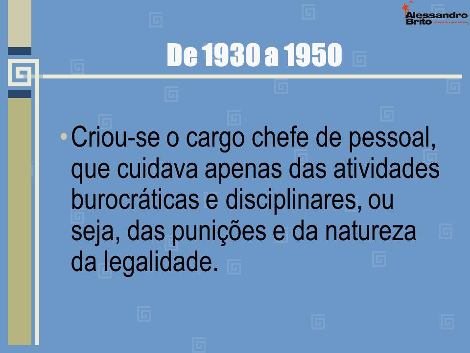 De 1930 a 1950