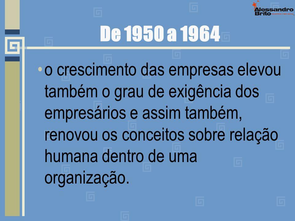De 1950 a 1964