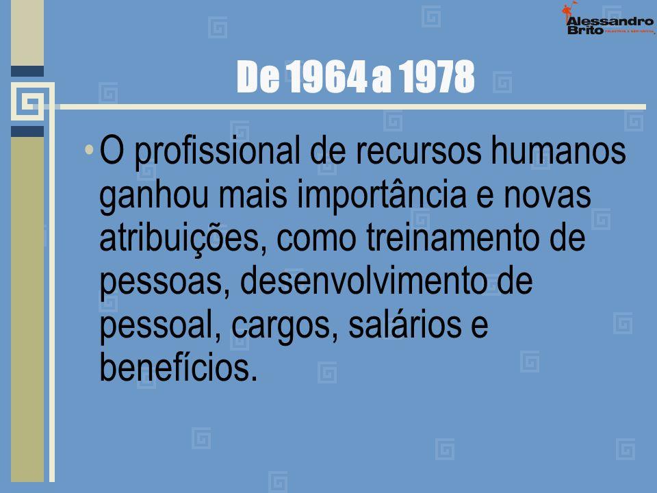 De 1964 a 1978