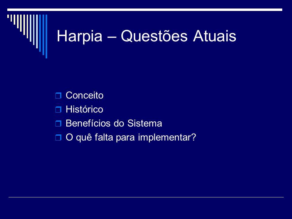 Harpia – Questões Atuais