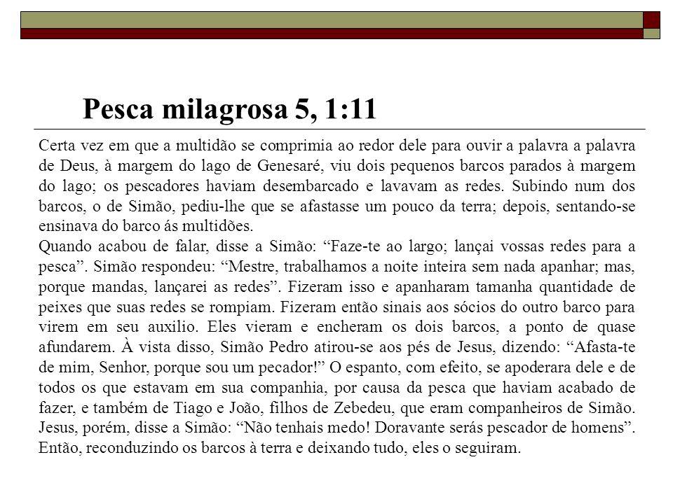 Pesca milagrosa 5, 1:11