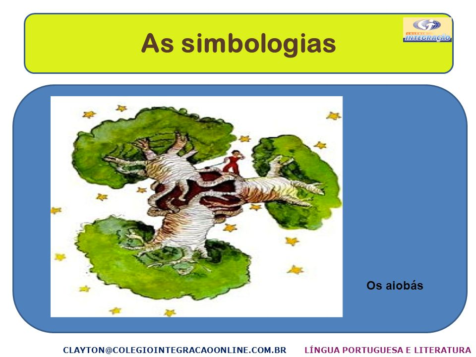 As simbologias Os aiobás