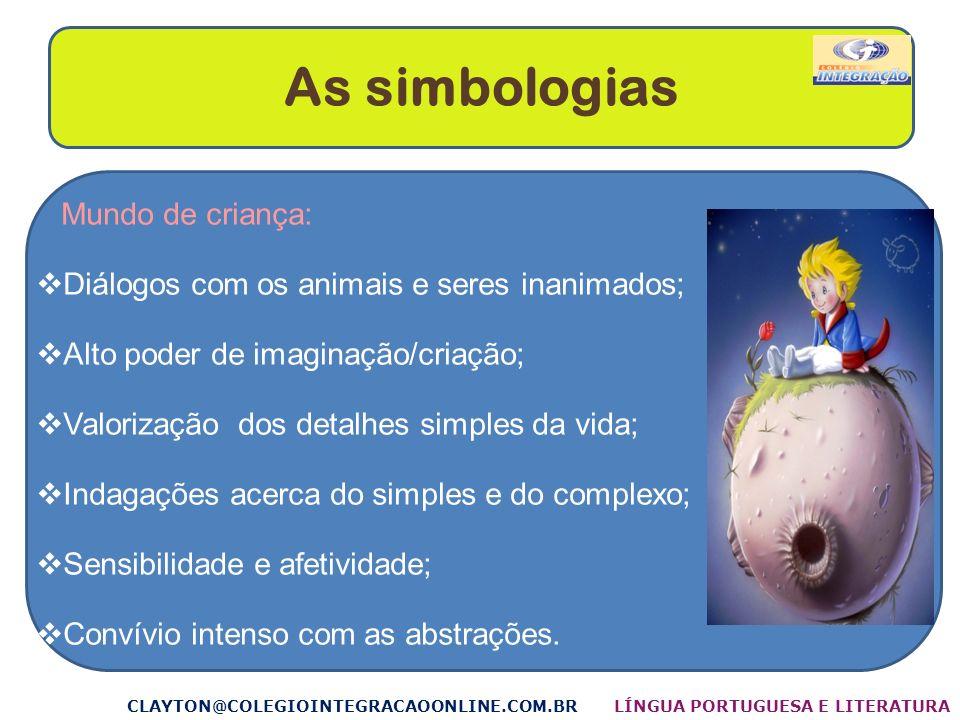 As simbologias Mundo de criança: