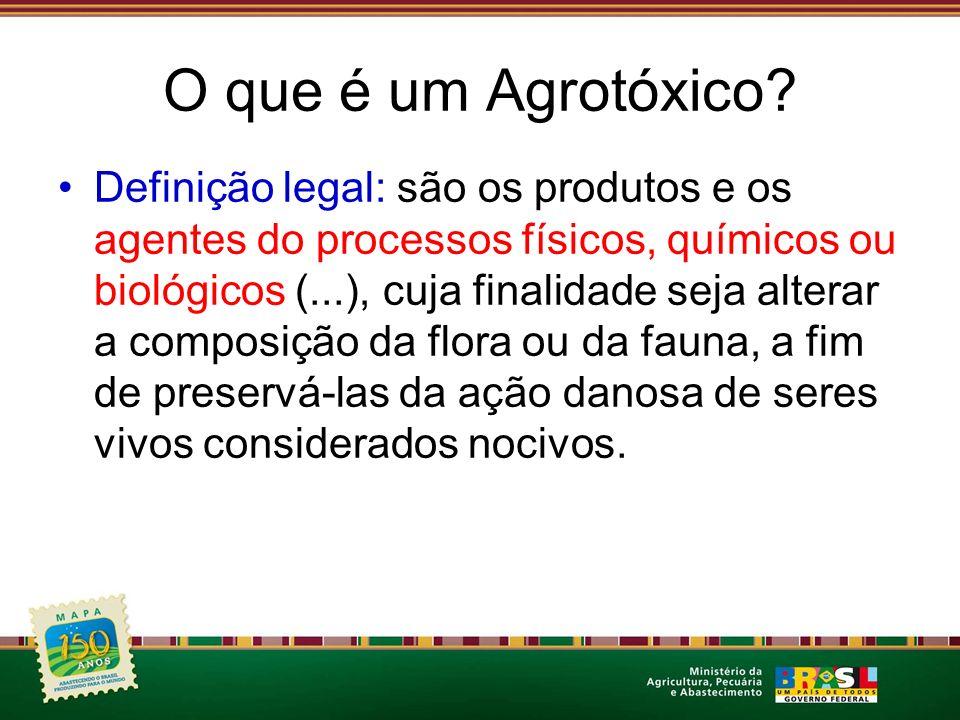 O que é um Agrotóxico