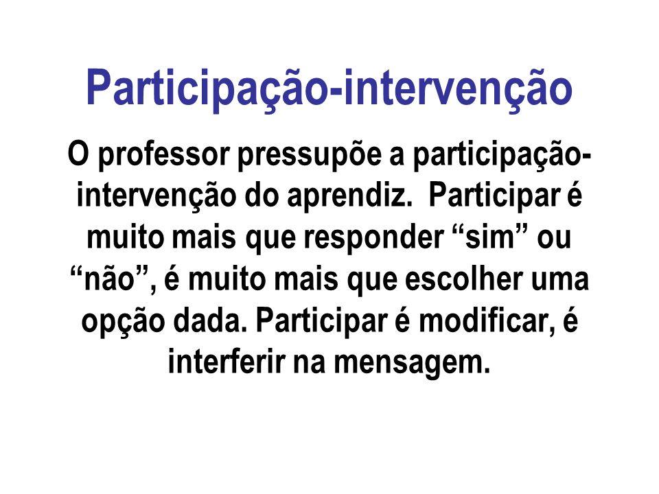 Participação-intervenção