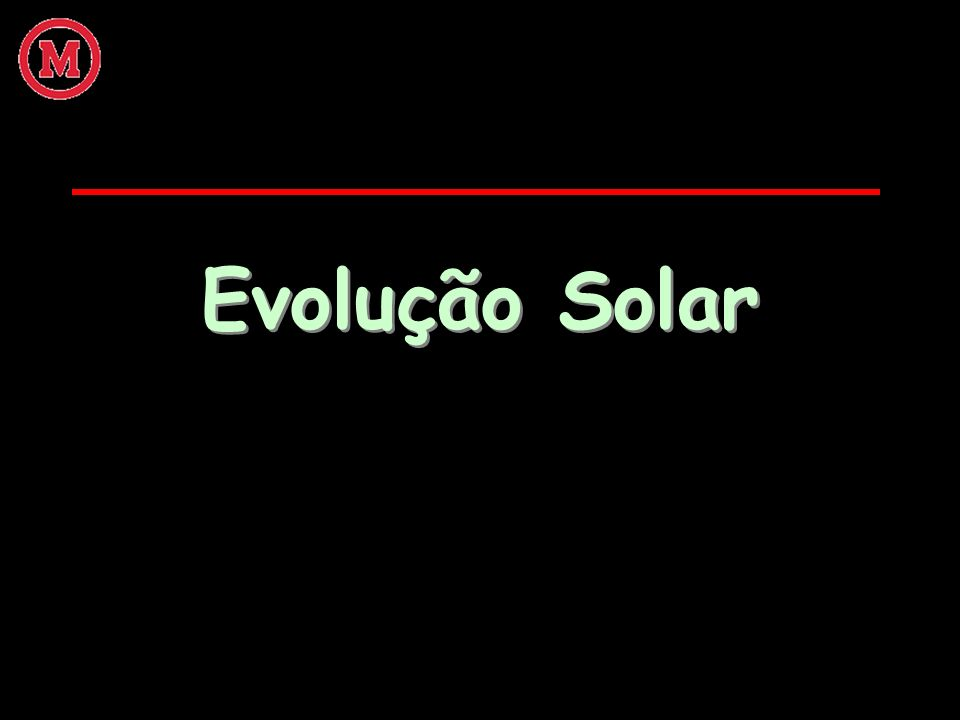 Evolução Solar