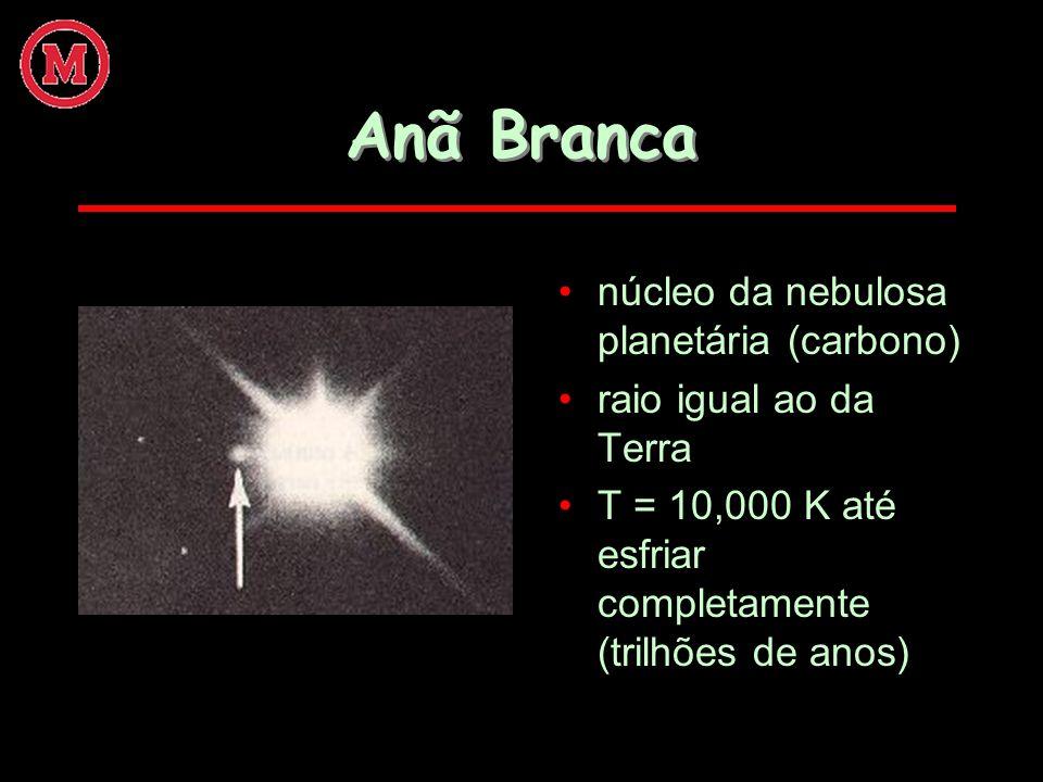 Anã Branca núcleo da nebulosa planetária (carbono)