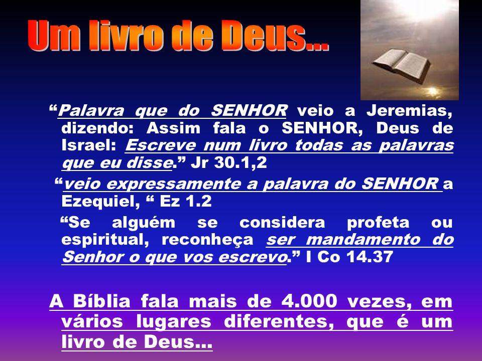 Um livro de Deus...