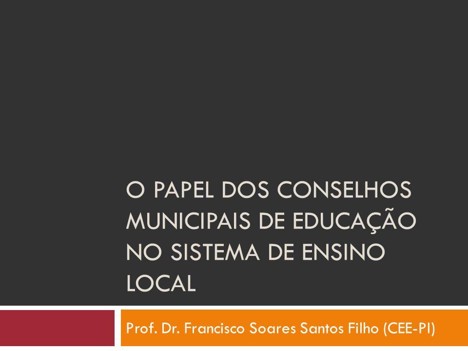 Prof. Dr. Francisco Soares Santos Filho (CEE-PI)
