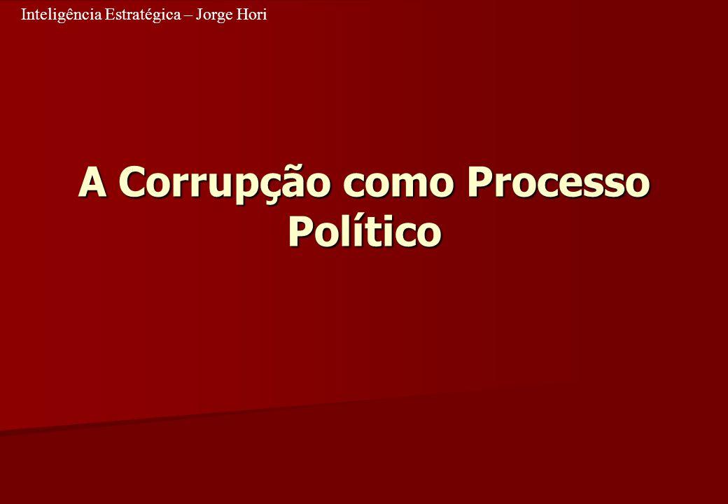 A Corrupção como Processo Político