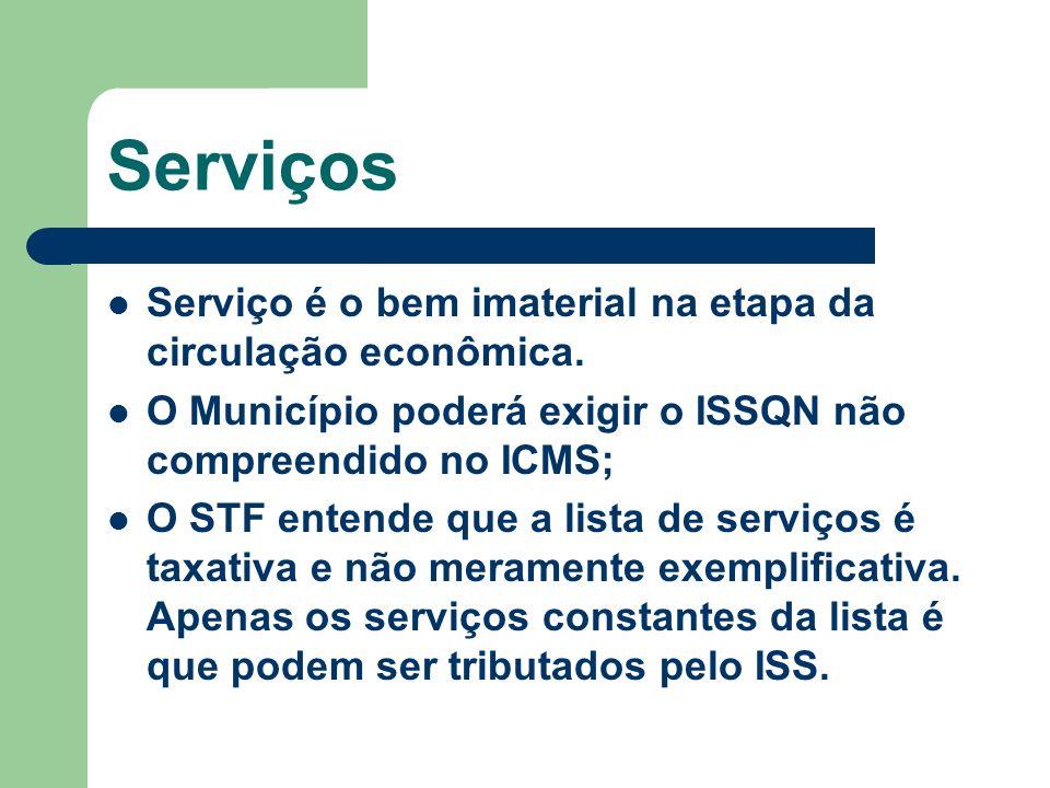 Serviços Serviço é o bem imaterial na etapa da circulação econômica.