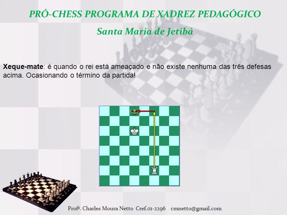 PRÓ-CHESS PROGRAMA DE XADREZ PEDAGÓGICO