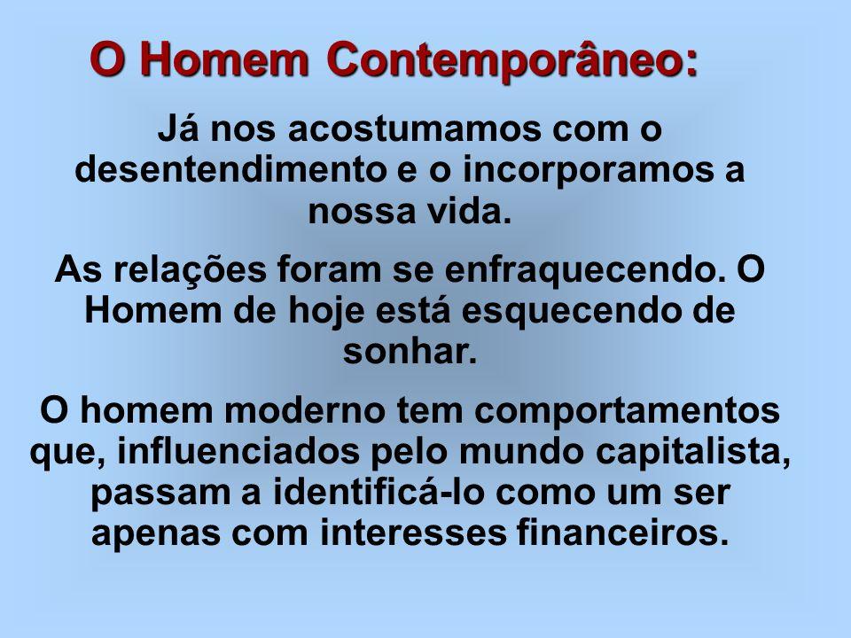 O Homem Contemporâneo: