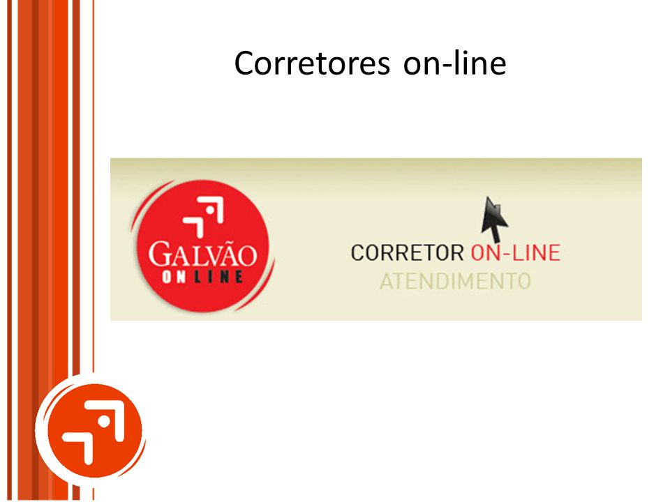 Corretores on-line