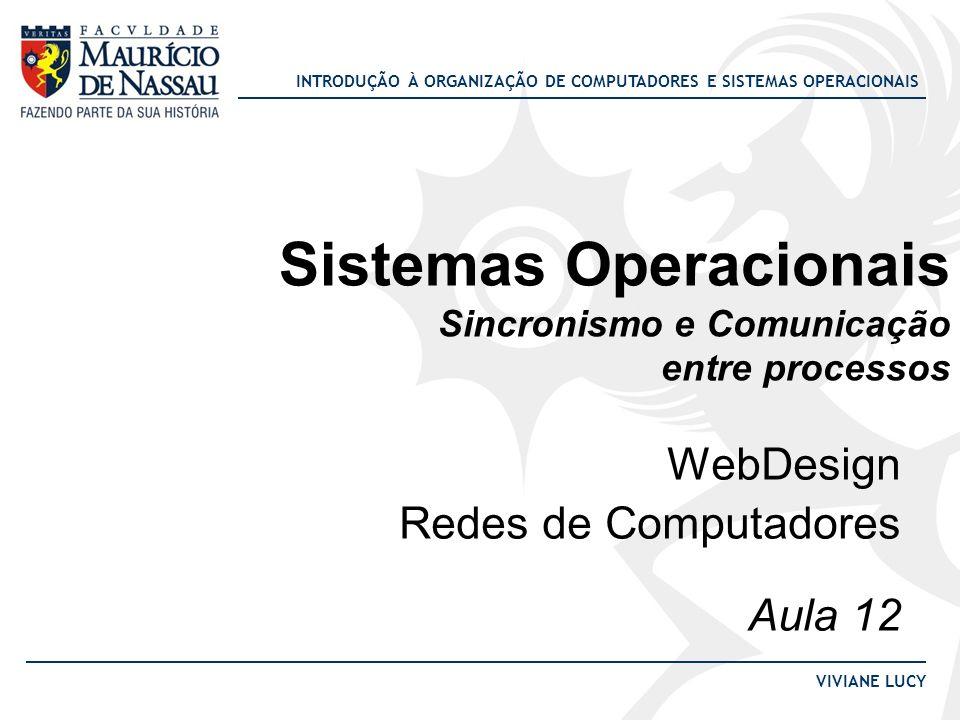 Sistemas Operacionais Sincronismo e Comunicação entre processos