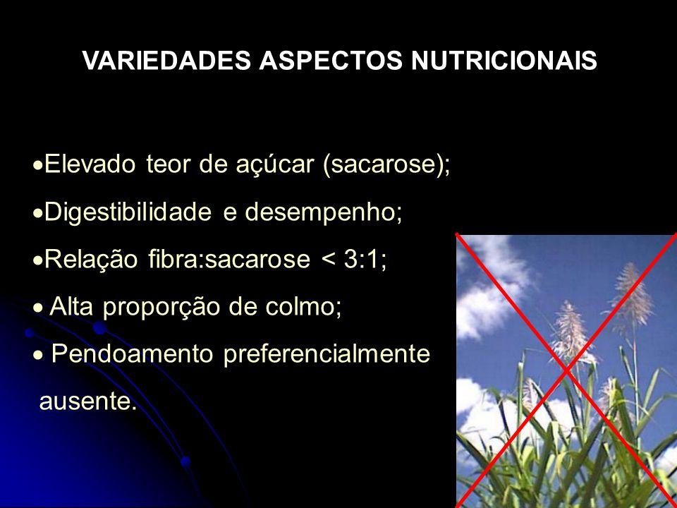 VARIEDADES ASPECTOS NUTRICIONAIS