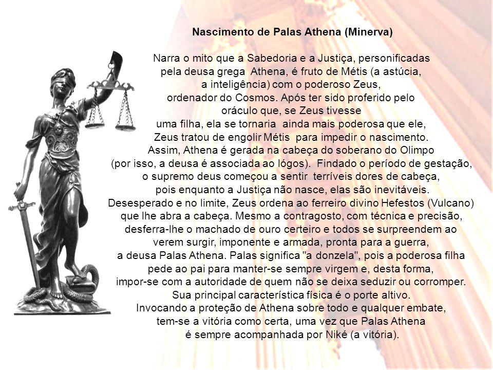 Nascimento de Palas Athena (Minerva)