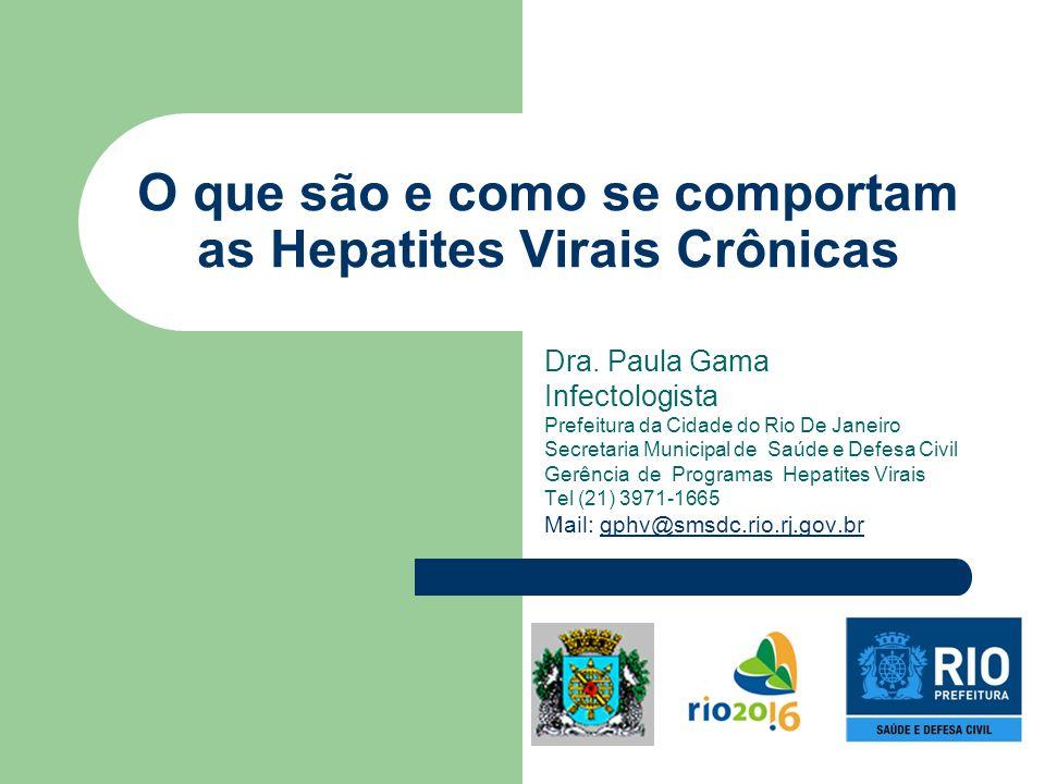 O que são e como se comportam as Hepatites Virais Crônicas