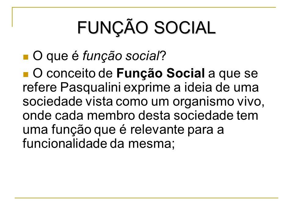 FUNÇÃO SOCIAL O que é função social