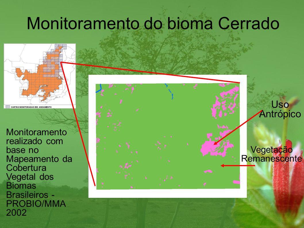 Monitoramento do bioma Cerrado