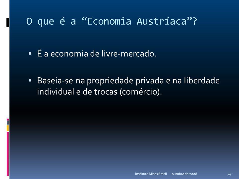 O que é a Economia Austríaca