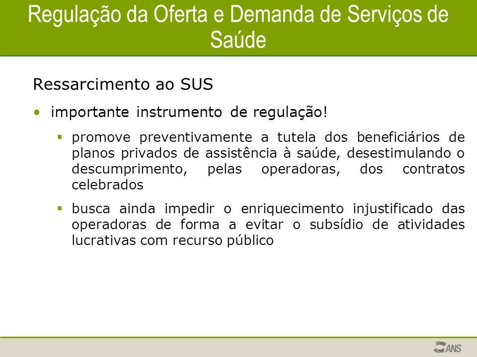 Regulação da Oferta e Demanda de Serviços de Saúde