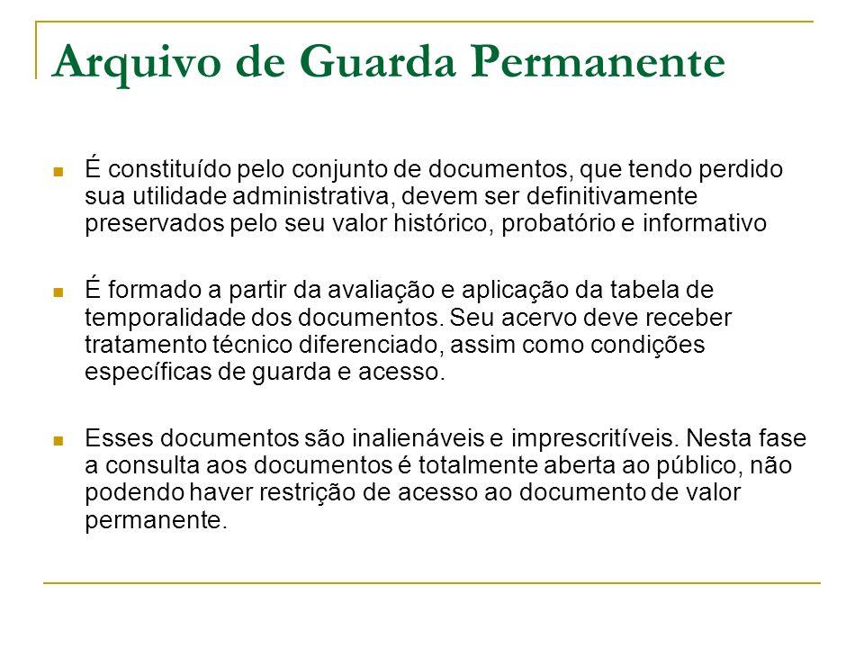 Arquivo de Guarda Permanente