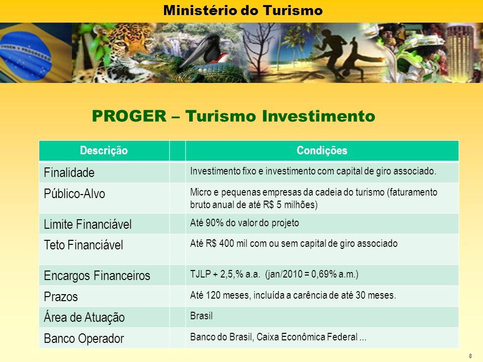 PROGER – Turismo Investimento