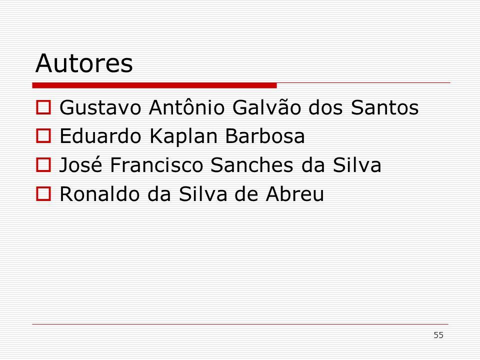 Autores Gustavo Antônio Galvão dos Santos Eduardo Kaplan Barbosa