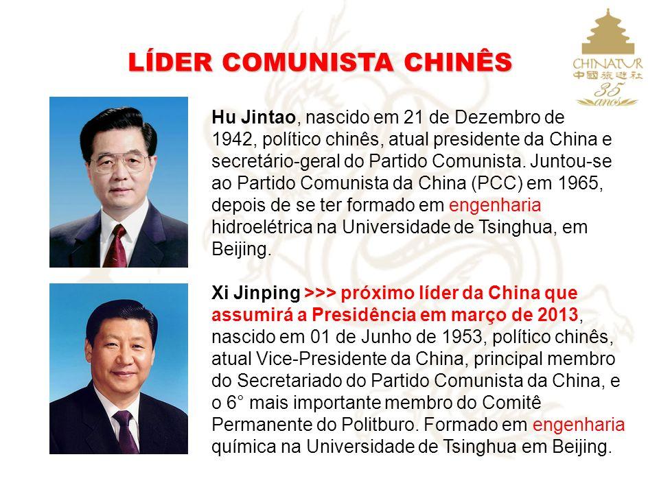 LÍDER COMUNISTA CHINÊS