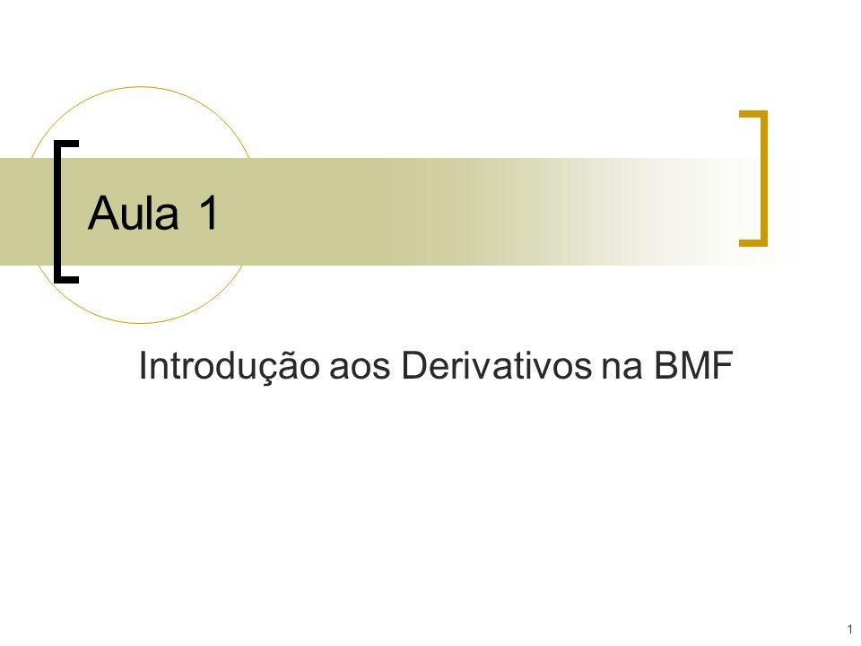 Introdução aos Derivativos na BMF