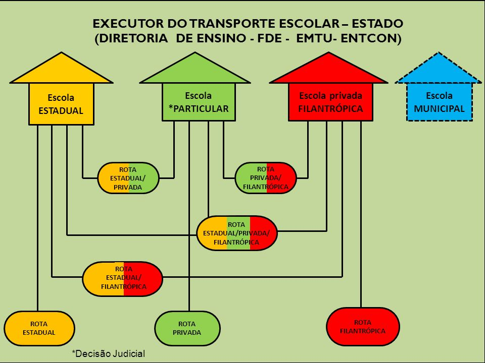EXECUTOR DO TRANSPORTE ESCOLAR – ESTADO