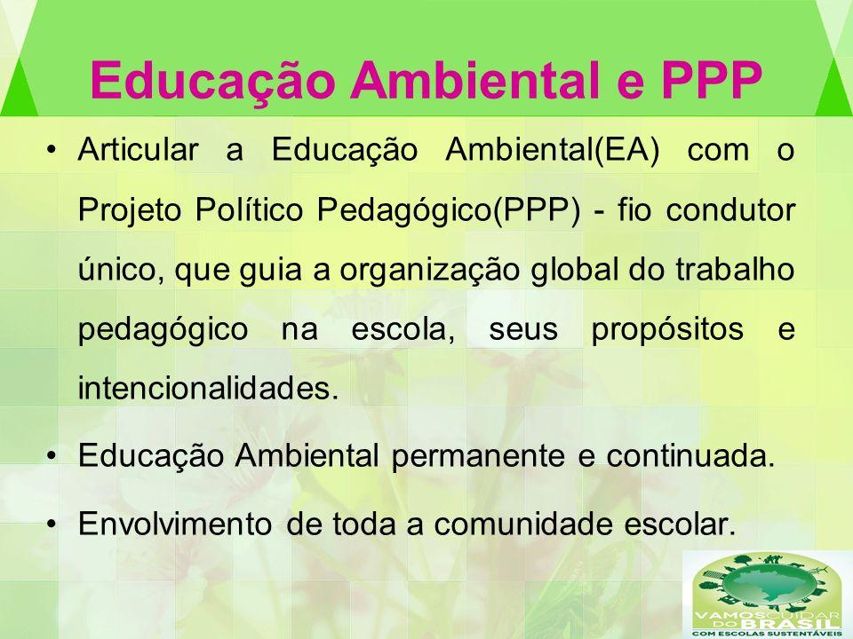 Educação Ambiental e PPP