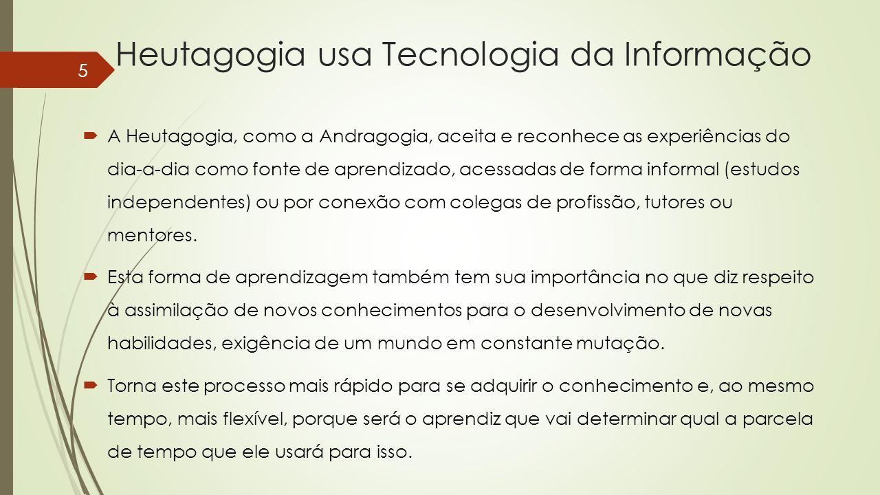 Heutagogia usa Tecnologia da Informação
