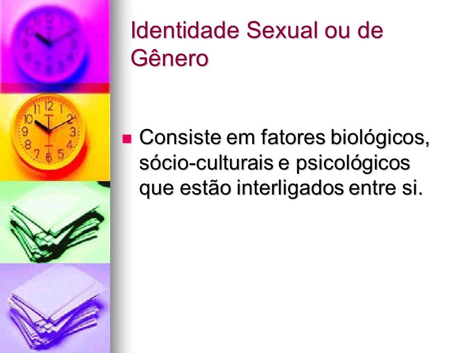 Identidade Sexual ou de Gênero