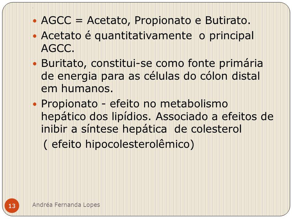 AGCC = Acetato, Propionato e Butirato.