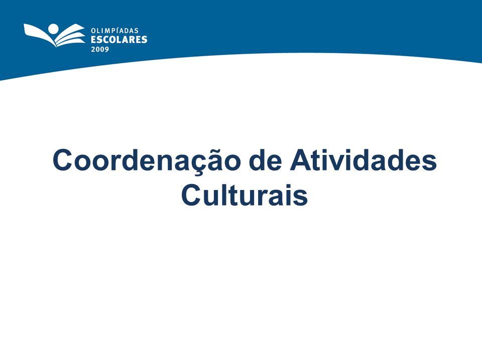 Coordenação de Atividades Culturais
