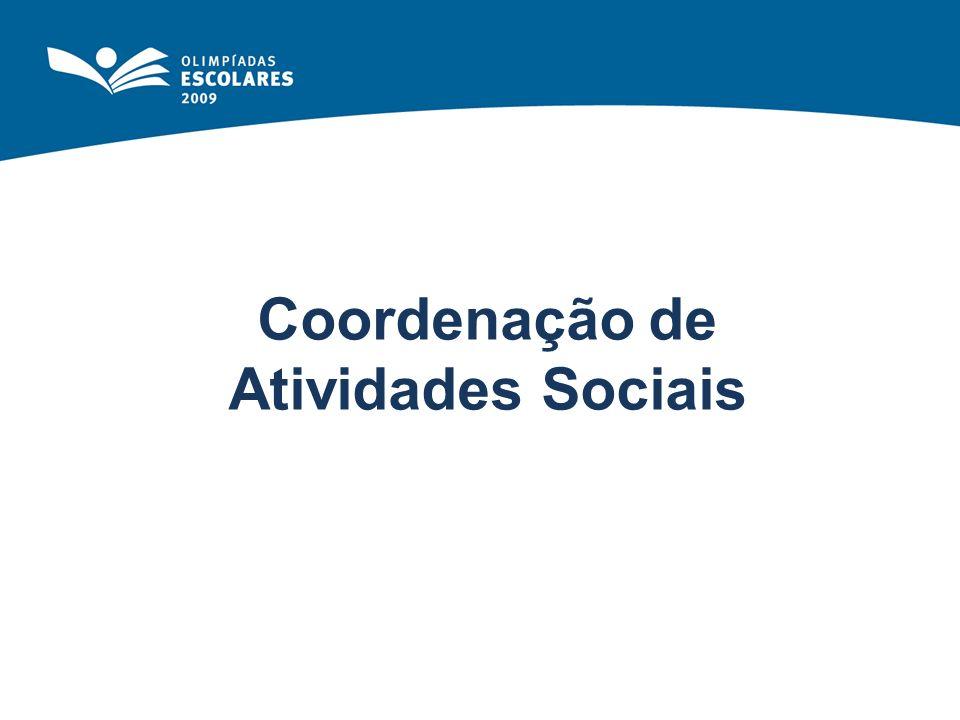Coordenação de Atividades Sociais