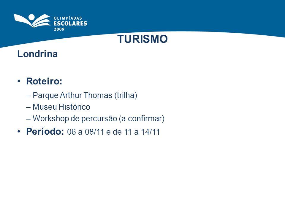 TURISMO Roteiro: – Parque Arthur Thomas (trilha)