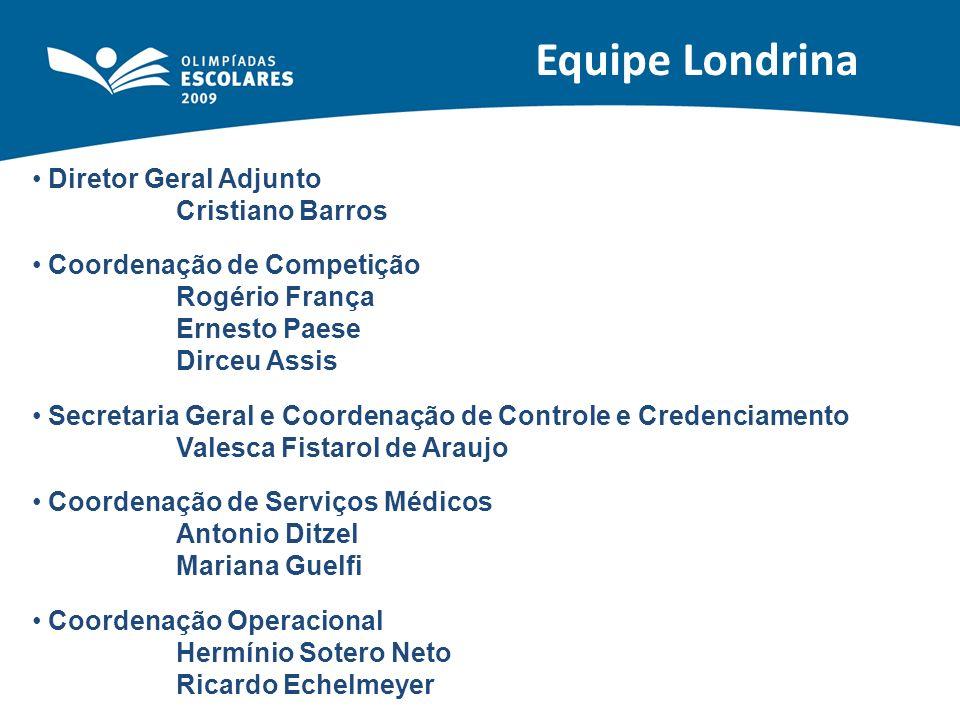 Equipe Londrina Diretor Geral Adjunto Cristiano Barros