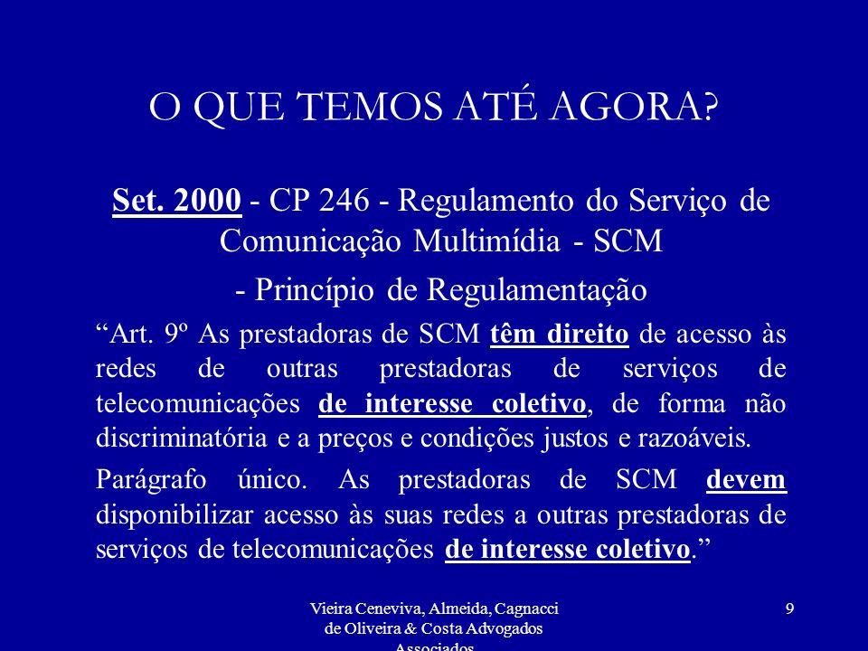 - Princípio de Regulamentação