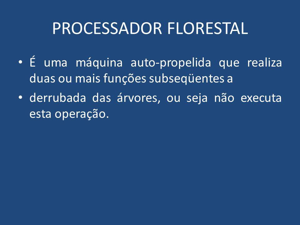 PROCESSADOR FLORESTAL